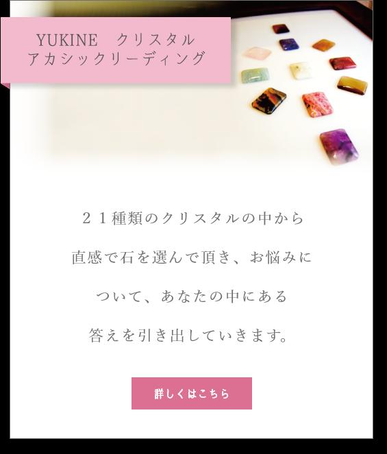 YUKINE クリスタルアカシックリーディング
